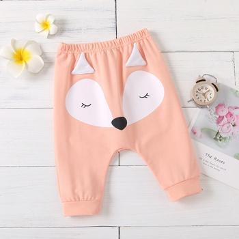 Baby Unisex casual Animal Harem pants Casual Pants & Sweatpants & Harem Cotton Pants