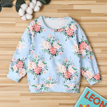 Baby / Toddler Floral Pattern Pullover