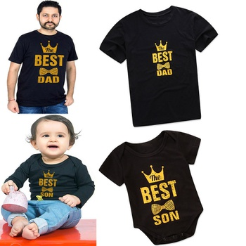 27baa170 Letter Print T-shirts for Daddy addy and Me