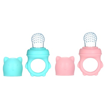 Baby nipple Fresh Food Baby Pacifiers Feeder Kids Fruit feeding nipple Safe Supplies Nipple Teat