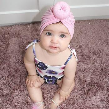Baby Boy / Girl Solid Newborn Knot Hat