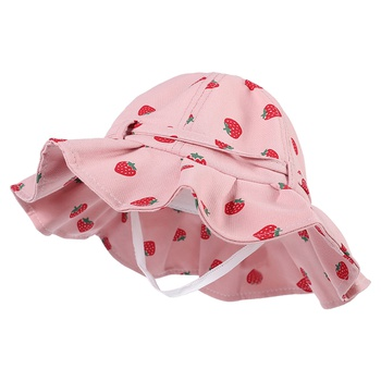 Toddler / Kid Stylish Fruit Allover Ruffled Hat