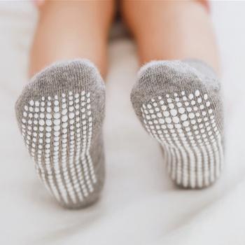 Baby / Toddler Solid Antiskid Socks
