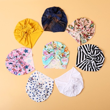 Stylish Print Bowknot Hat