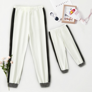 Casual Cotton Sweatpants for Daddy and Me