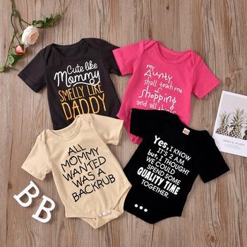 Baby Letter Print Romper