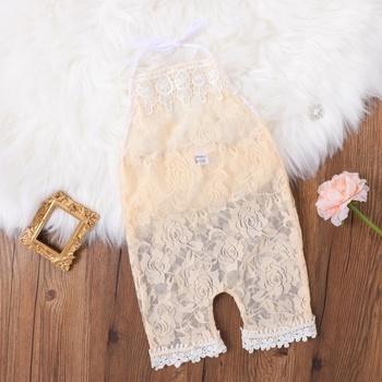 1pc Baby Girl elegant Jumpsuits