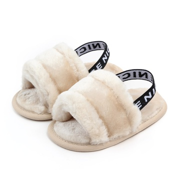 Baby / Toddler Fashionable Coral Fleece Sandals