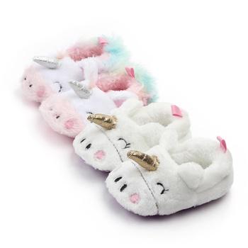 Baby / Toddler Cutie Unicorn Fluffy Prewalker Shoes