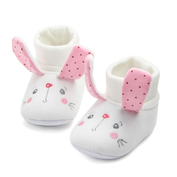 Baby / Toddler Animal Embroidered Knitted Prewalker Shoes