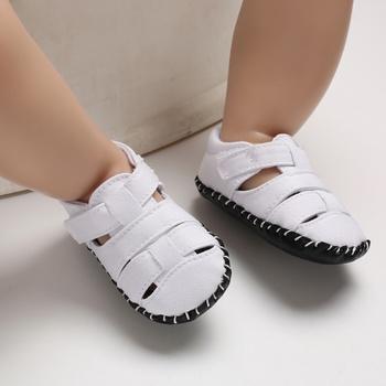 Baby / Toddler Solid Casual Canvas Prewalker Sandals