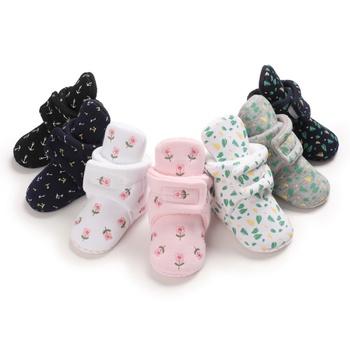 Baby / Toddler Floral Bohemia Cotton Prewalker Shoes
