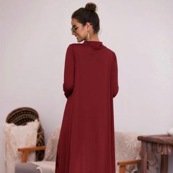 Pretty Solid Long-sleeve Coat For women