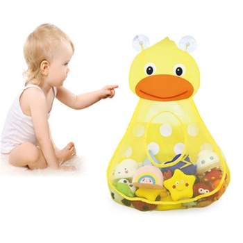 Children's baby bath bathing water toy storage bag frog duck cartoon daily necessities storage bag