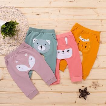 Baby Unisex casual Animal Casual Pants & Sweatpants & Harem Pants Cotton