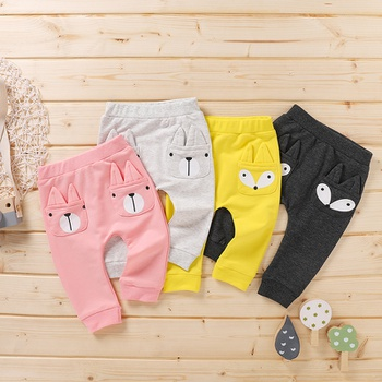 Baby Unisex casual Animal straight Casual Pants & Sweatpants & Harem Pants