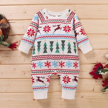 Baby Christmas Elk Jumpsuit