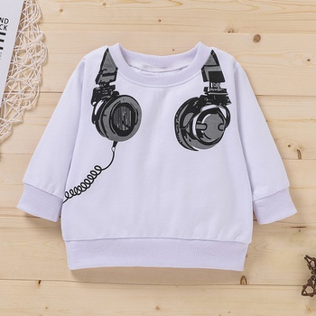 Baby Boy casual Pullovers Cartoon Cotton Fashion Long Sleeve Infant Clothing Outfits