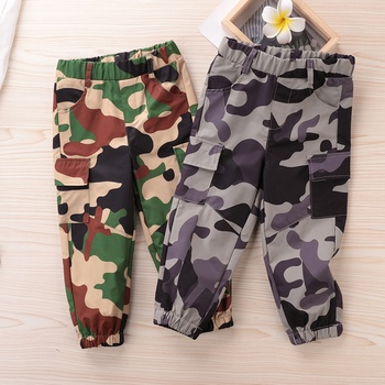 Baby / Toddler Boy Camouflage Causal Pants