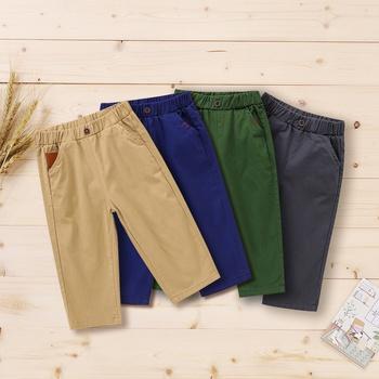 Baby Boy casual straight Cotton Casual Pants & Sweatpants & Harem Pants
