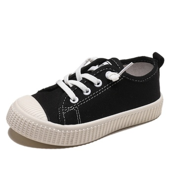 Toddler / Kid Solid Canvas Shoes First Walkers