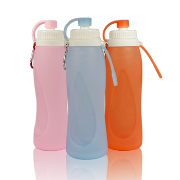 Silicone Water Cup Outdoor Portable Kettle Mountain Sports Water Bottle