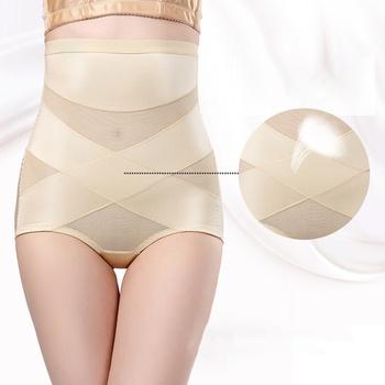 Summer Women High Waist Slimming Tummy Control Briefs