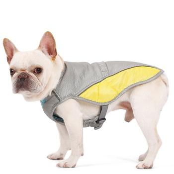 Pet heatstroke cooling clothes breathable vest