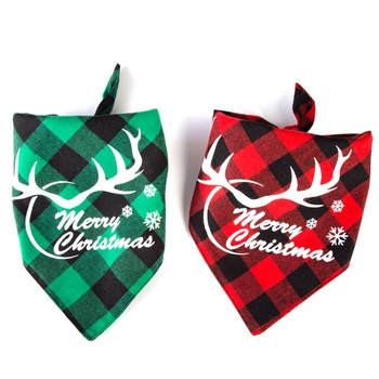 Christmas Pet Saliva Towel