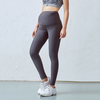 Sporty Solid Maternity Leggings