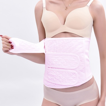 Postpartum Recovery Belt Girdle Belly Binder Shapewear Cotton