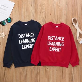 Kid Unisex DISTANCE LEARNING EXPERT Sweatshirt