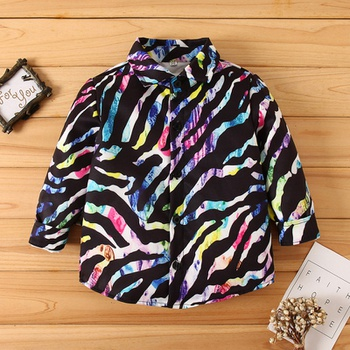 Baby / Toddler Boy Trendy Zebra Shirt
