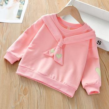 Toddler Girl Heart Pink Pullover