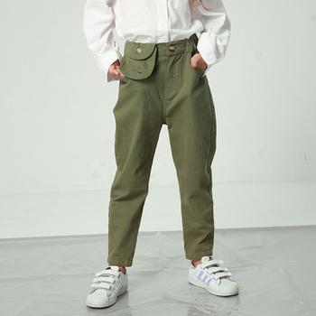 Stylish Pocket Decor Casual Straight Cut Pants