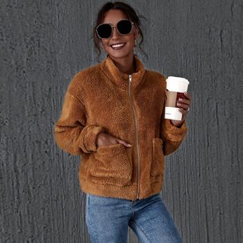casual Coffee short Coats