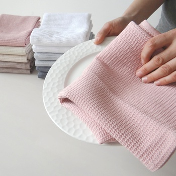 Kitchen Dish Towel in 6 Colours Machine Washable Fabric