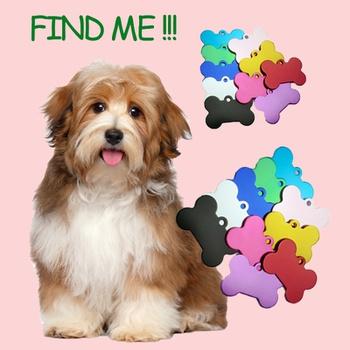 38MM Dog Brand Bone Pet Identity Card