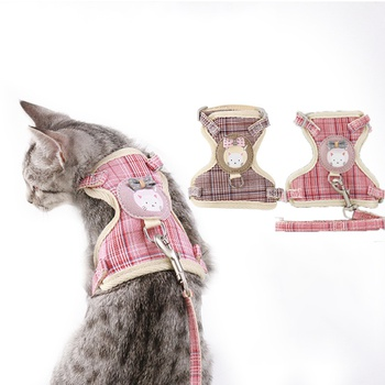 Cat Clothing with Traction Rope Set