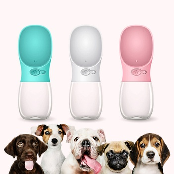 Dog Water Bottle for Walking Portable Dog Water Dispenser Pet Travel Drink Cup with Bowl