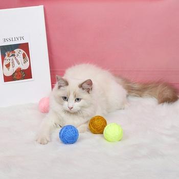 Cat Toy Yarn Ball