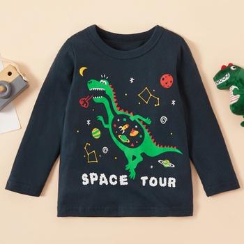 Baby / Toddler Boy Dinosaur Print Long-sleeve Tee