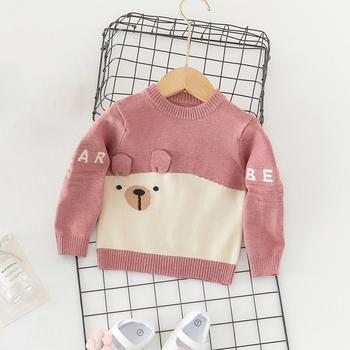 Baby Girl casual Animal & Raccoon Sweaters Fashion Long Sleeve Infant Clothing Outfits