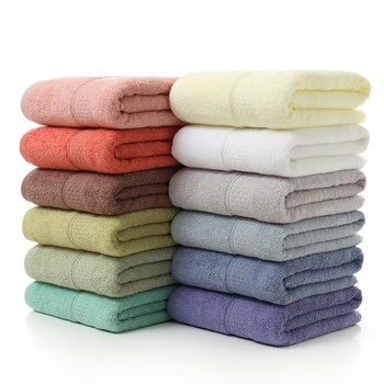 "Premium Cotton Bath Towels - Natural, Ultra Absorbent and Eco-Friendly 27.5"" X 55"""