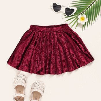 Baby / Toddler Velvet Skirt