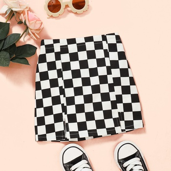 Baby / Toddler Fashionable Plaid Skirt