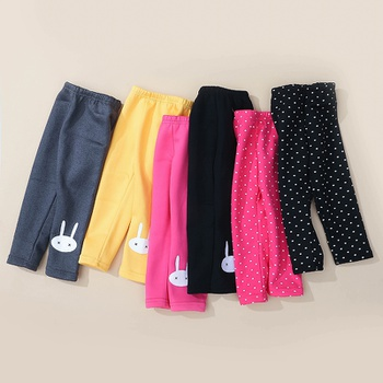 Baby / Toddler Polka Dots Quilted Leggings