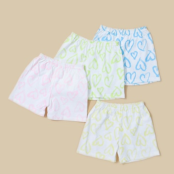 4- Pack Baby / Toddler Heart Pattern Underwear Set
