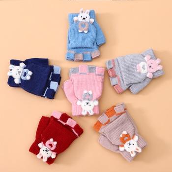 Kid Cartoon Rabbit Gloves