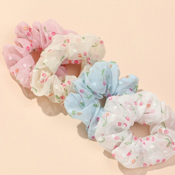 4-pack Pretty Cherry Hairbands for Girls